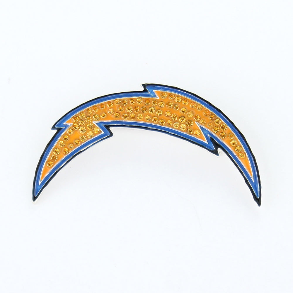 San Diego Chargers Crystal Logo Pin