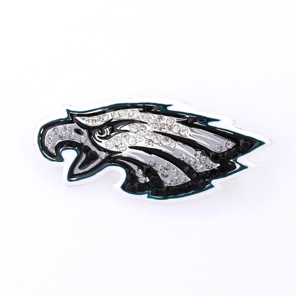 Philadelphia Eagles Crystal Logo Pin