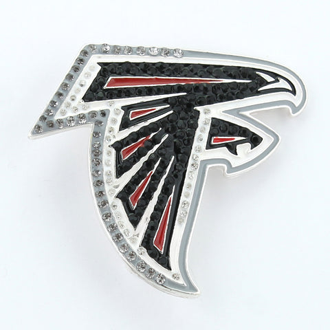 Atlanta Falcons Crystal Logo Pin