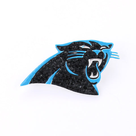 Carolina Panthers Crystal Logo Pin