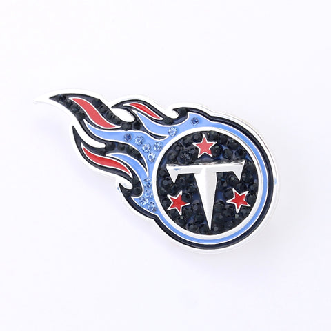 Tennessee Titans Crystal Logo Pin