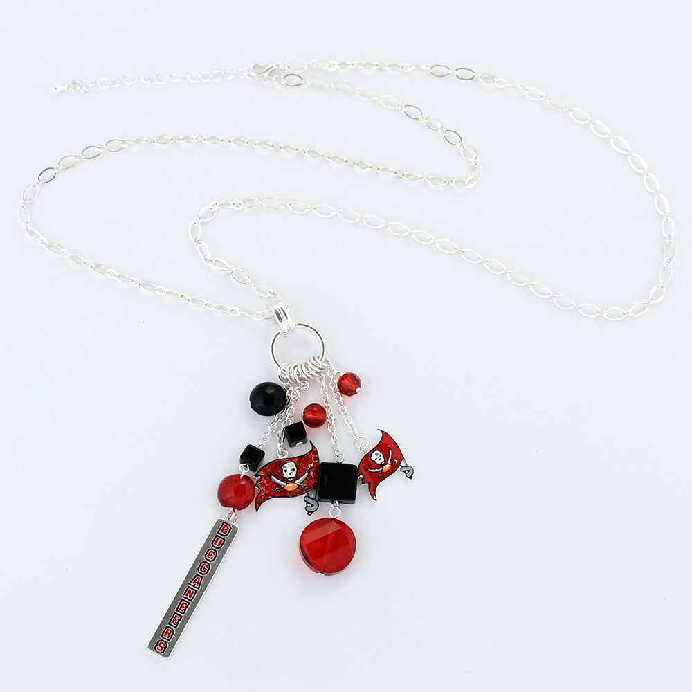 Tampa Bay Buccaneers Cluster Necklace