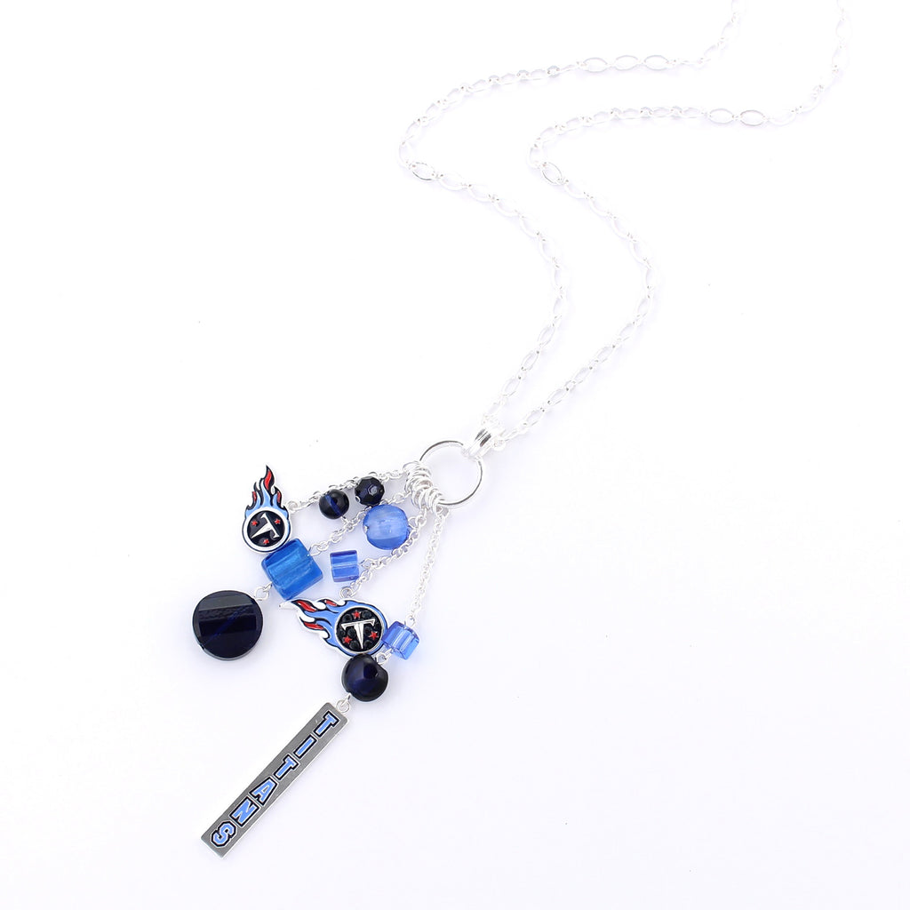 Tennessee Titans Cluster Necklace