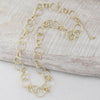 28 inch Gold Link Chain Necklace