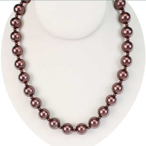 Seasons Jewelry Chocolate Brown 24