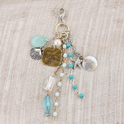 Seashore Clip-It Cluster Pendant