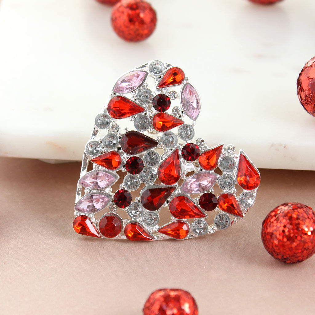 Jewel Heart Pin/Pendant