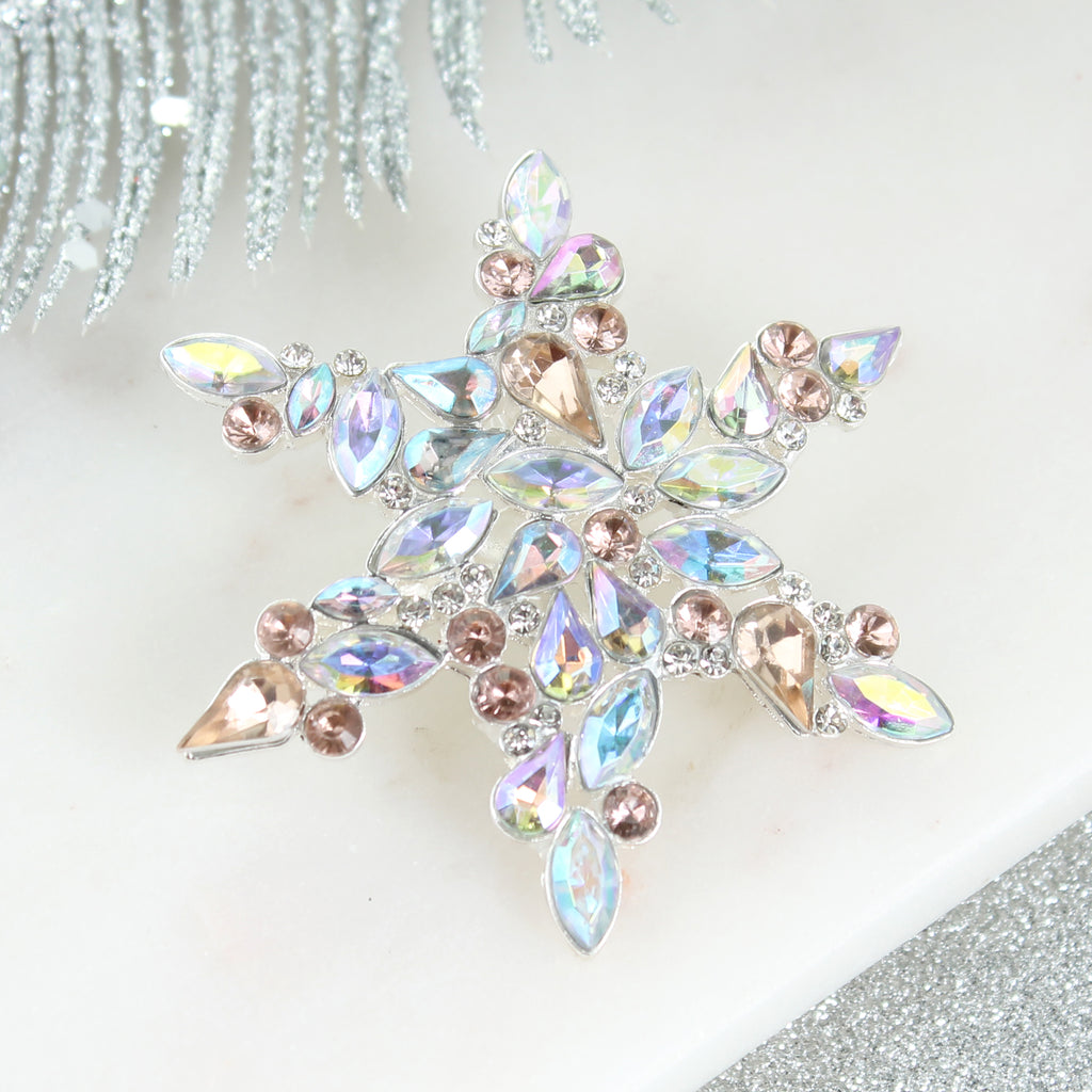 Jewel Snowflake Pin/Pendant