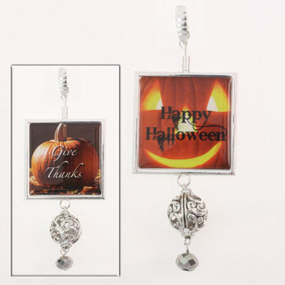 Fall Reversible Pendant