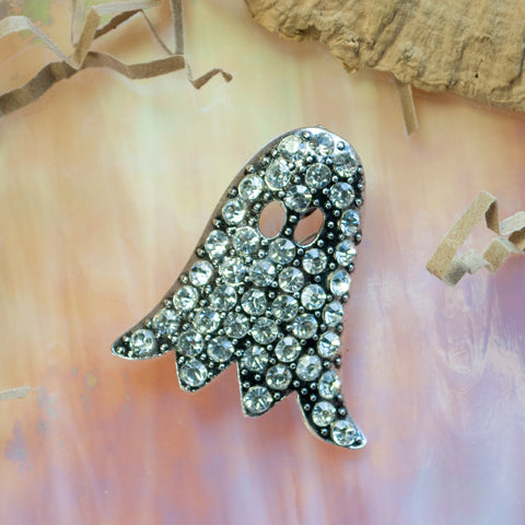 Seasons Jewelry Crystal Ghost Pin/Pendant