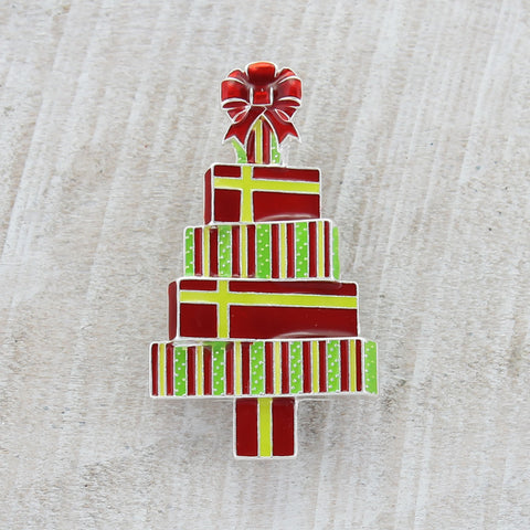 Christmas Gift Tree Clip-on Pin/Pendant