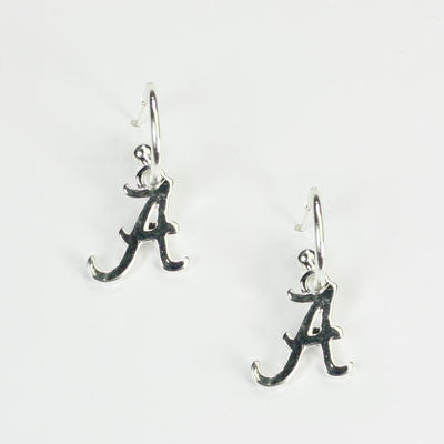 Seasons Jewelry Alabama Wire Logo Earring