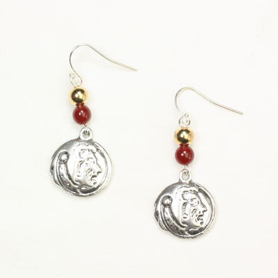 Seasons Jewelry Florida State Wire Logo Earring