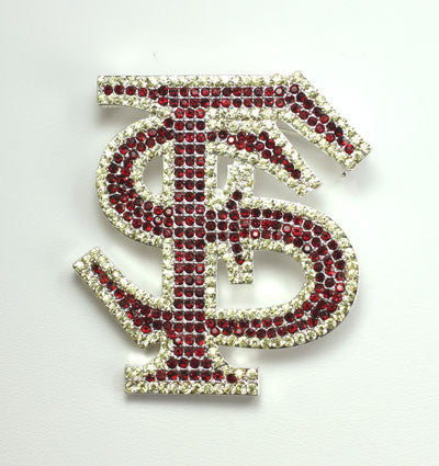 Seasons Jewelry Florida State Crystal Logo Pin