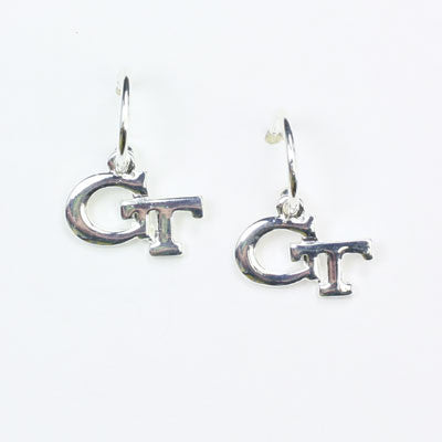 Seasons Jewelry Georgia Tech Logo Hoop Earring