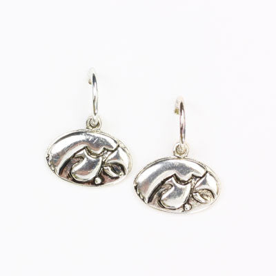 Seasons Jewelry Iowa Logo Hoop Earring