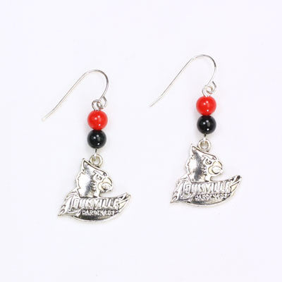 Seasons Jewelry Louisville Wire Logo Earring