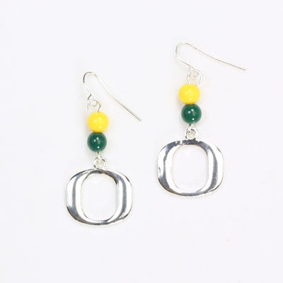 Seasons Jewelry Oregon Wire Logo Earring
