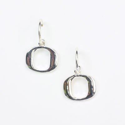 Seasons Jewelry Oregon Logo Hoop Earring