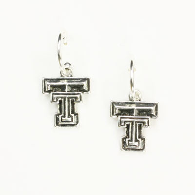 Seasons Jewelry Texas Tech Logo Hoop Earring