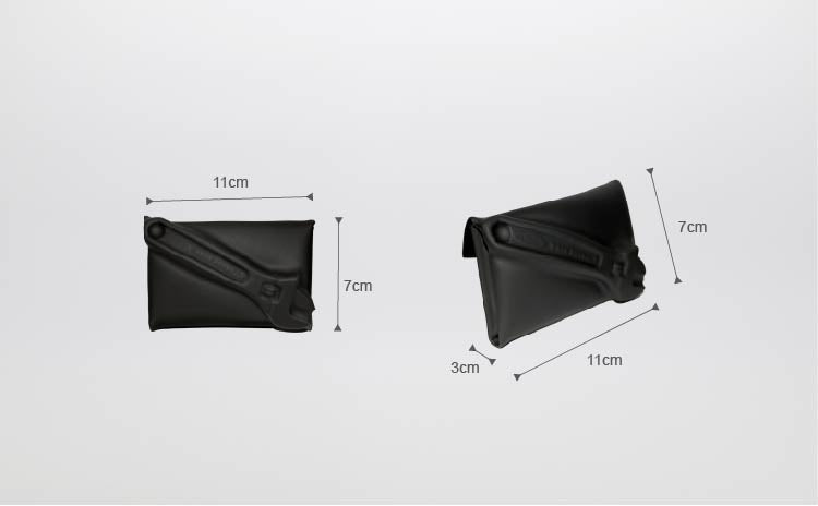 VF MATTE (XXS) COIN CASE / CARD HOLDER—Motor Bike