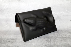 VF Matte (XXS) Coin Case / Card Holder— Crocodile