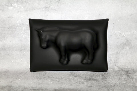 VF MATTE (XXS) COIN CASE / CARD HOLDER— Horse
