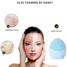 Load image into Gallery viewer, Facial Cleansing & Massaging Brush
