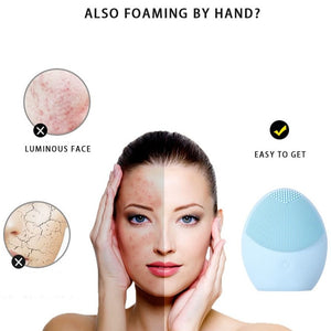 Facial Cleansing & Massaging Brush