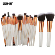 Load image into Gallery viewer, 22 Piece Precision Makeup Brush Set