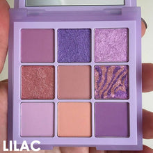 Load image into Gallery viewer, 9 Shades Eyeshadow Palette
