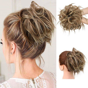 Messy Bun Faux Hair Band