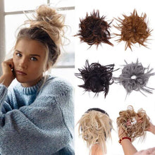 Load image into Gallery viewer, Messy Bun Faux Hair Band