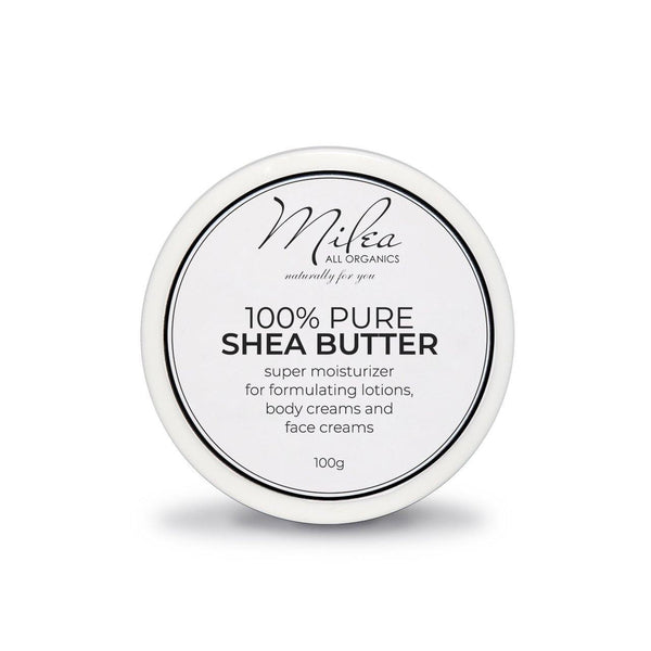 100% Pure Shea Butter - Milea All Organics