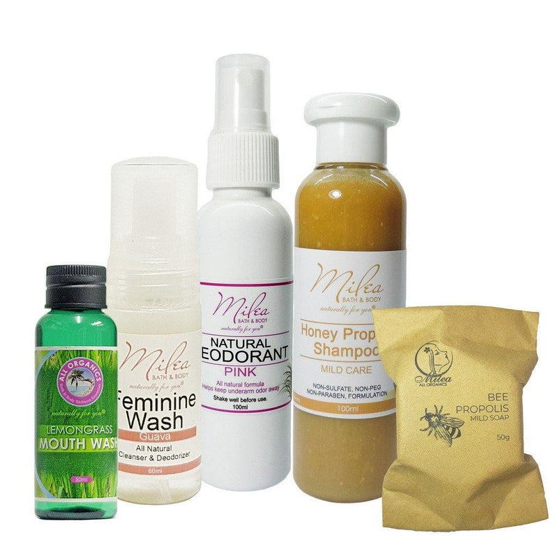 Daily Hygiene Travel Set - Milea All Organics