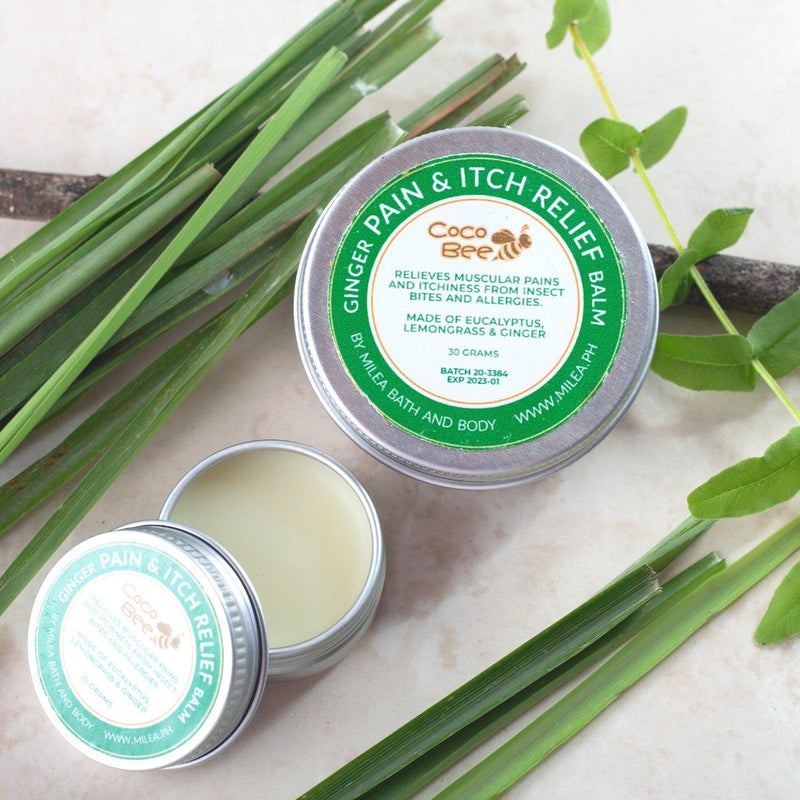 Ginger Pain & Itch Relief Balm - Milea All Organics - Philippines