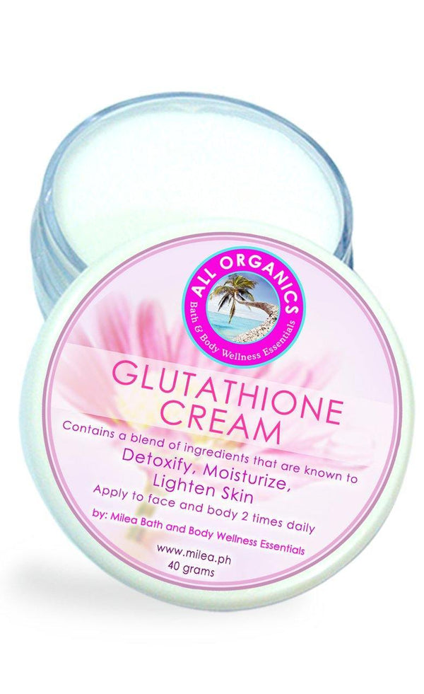 Glutathione Cream - Milea All Organics