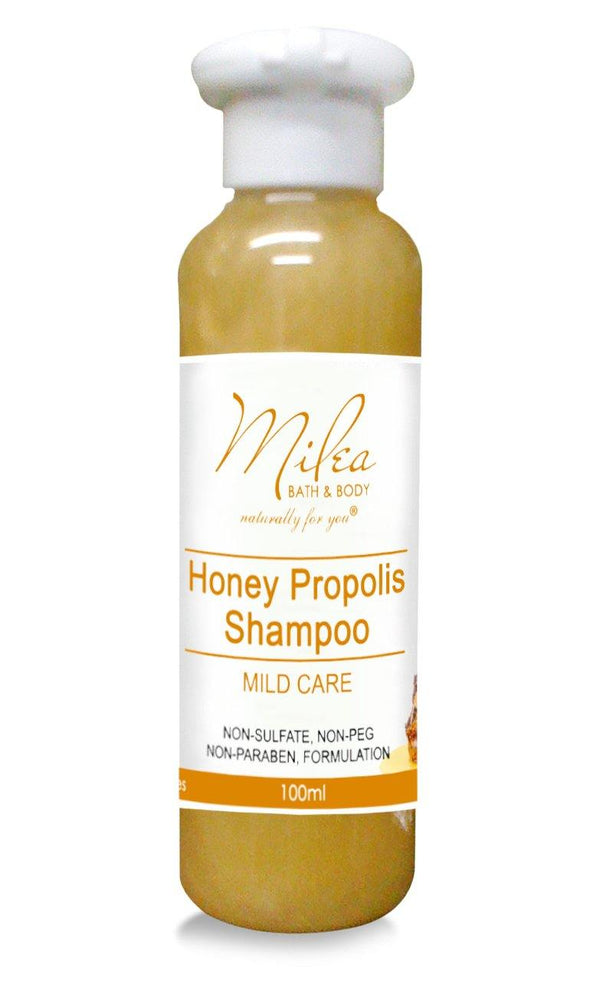 Honey Propolis Mild Shampoo - Milea All Organics - Philippines