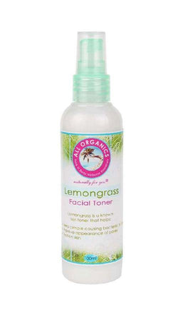 Lemongrass Facial Toner - Milea All Organics