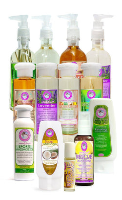 Massage Oils and Cream - Milea All Organics