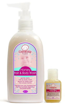 Milea Baby - Honey Hair & Body Wash - Milea All Organics - Philippines