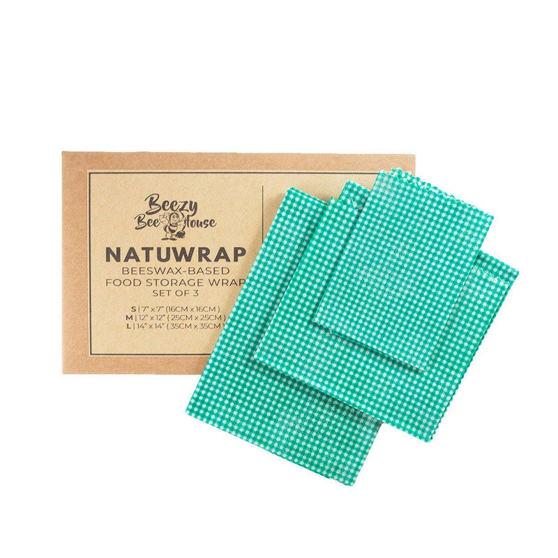 NatuWrap Reusable Beeswax Food Wraps - Milea All Organics - Philippines