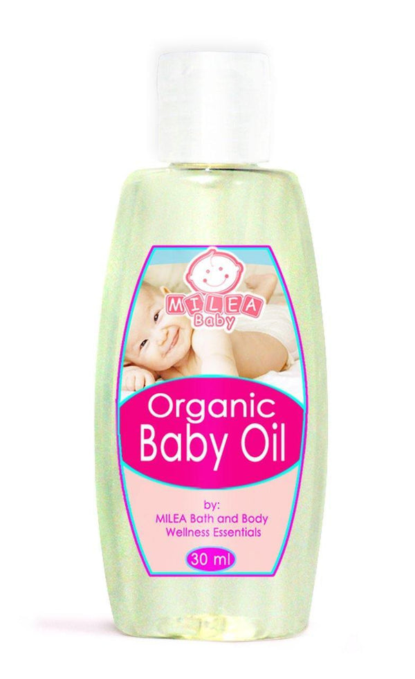 Organic Baby Oil - Milea All Organics - Philippines