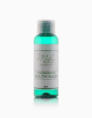 Organic Lemongrass Mouthwash - Milea All Organics