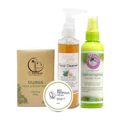Pimple Treatment Skin Care Set - Milea All Organics