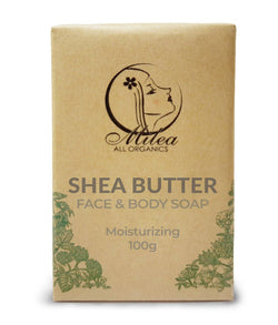 Shea Butter Moisturizing Soap Soaps Milea All Organics 100g