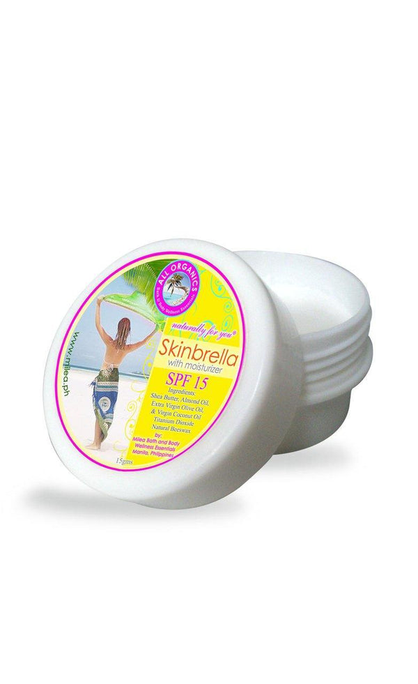 Skinbrella SPF 15 Natural Sun Protection - Milea All Organics - Philippines
