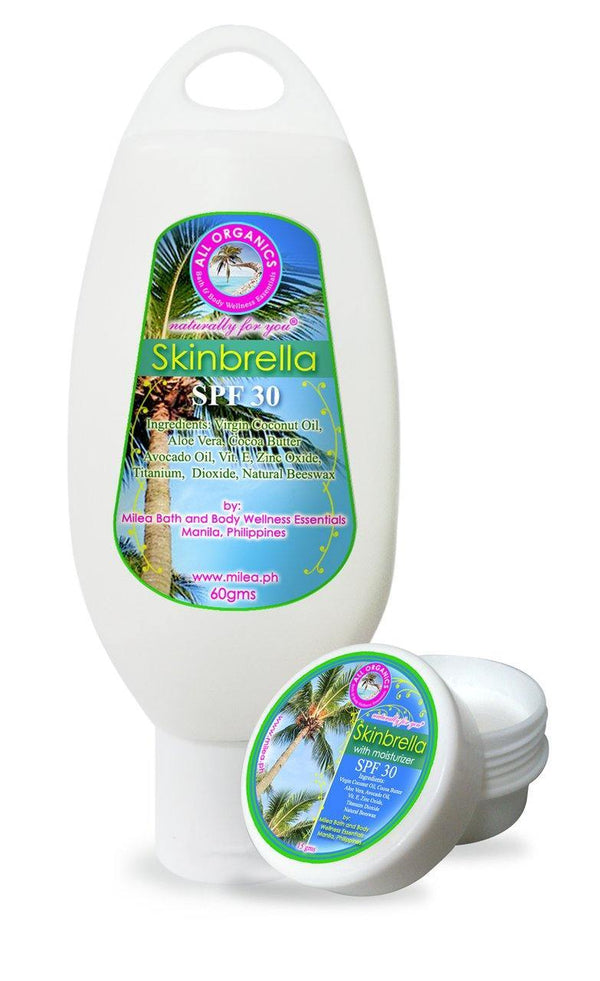 Skinbrella SPF 30 Natural Sun Protection - Milea All Organics