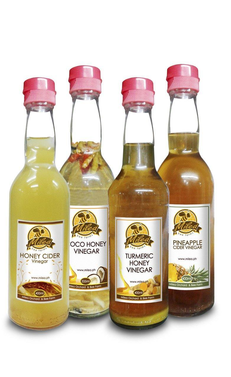 Special Honey Ciders and Vinegars - Milea All Organics - Philippines