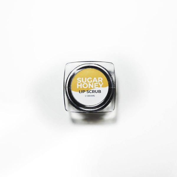 Sugar Honey Exfoliating Lip Scrub 6g - Milea All Organics